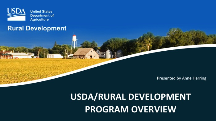 Click to launch USDA/Rural Development Presentation