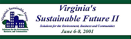 Virginia's Sustainable Future II Conference