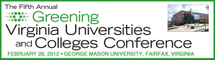 5th Annual Greening Virginia Universities Conference
