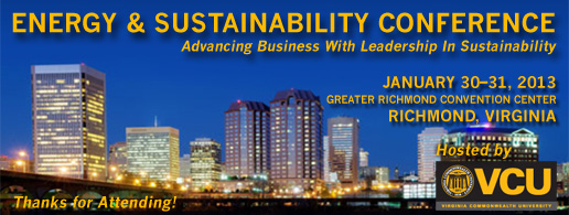 VCU Energy & Sustainability Conference