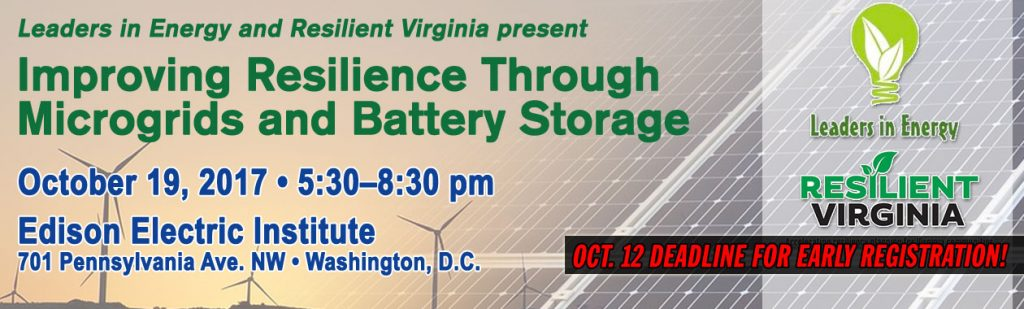 Improving Resiliency Through Microgrids and Storage Solutions