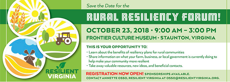 Register Today for the Rural Resiliency Forum