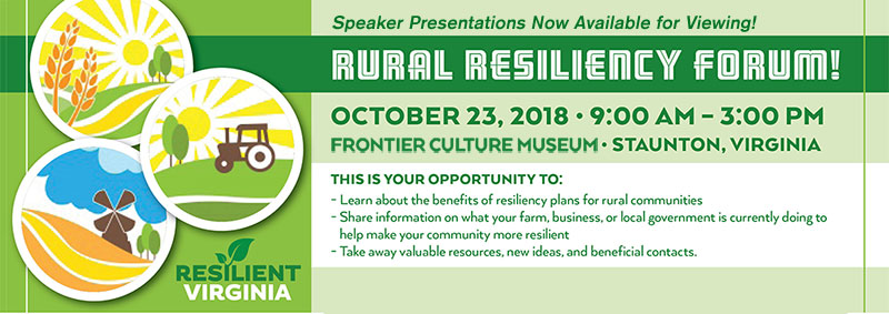 Rural Resiliency Forum