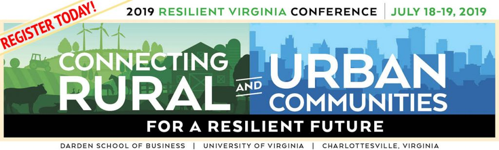 Register today for the 2019 Resilient Virginia Conference
