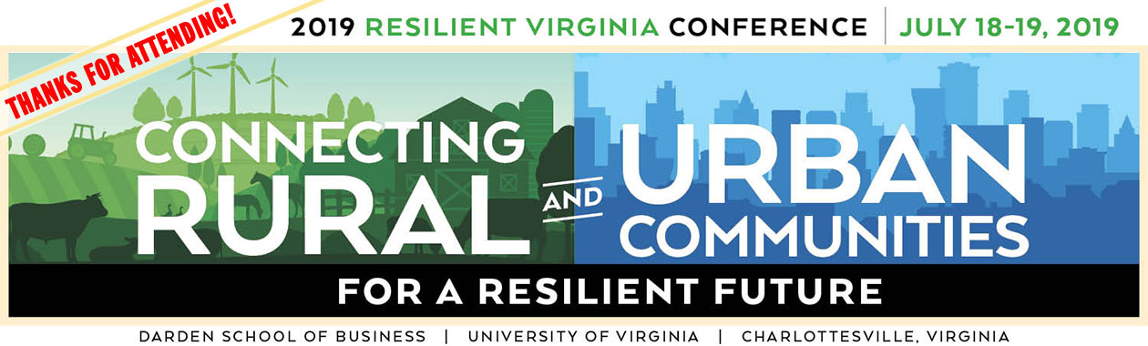 Thanks for Attending the 2019 Resilient Virginia Conference