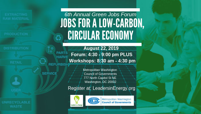 Jobs for a Low-Carbon, Circular Economy