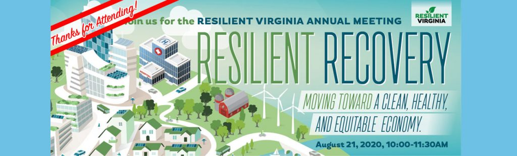 Thanks for Attending the 2020 Resilient Virginia Annual Meeting