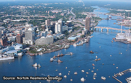 Resilience Strategies: On the Coastline