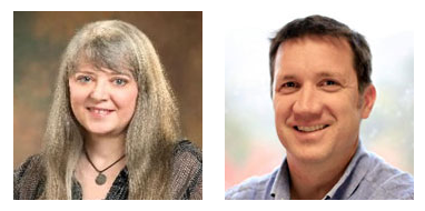 Gwen Griffith and Ned Gardiner, presenters at the Resilient Rural America Project webinar